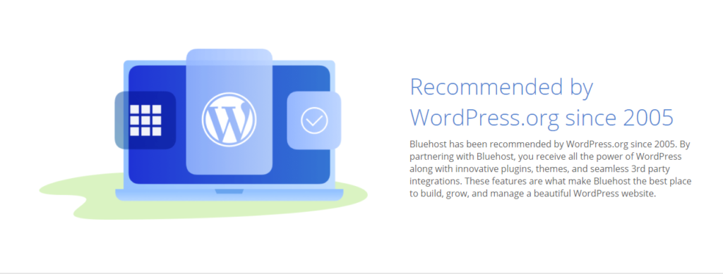 Recommended by WordPress.org since 2005