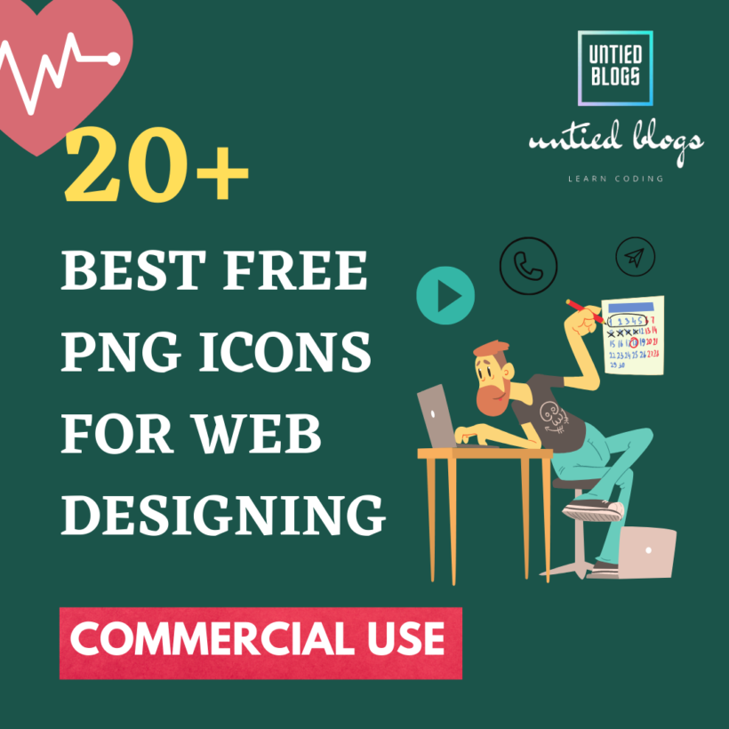 20+ best free png icons for web designing